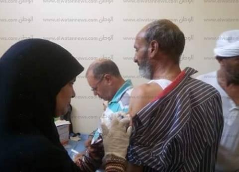 """""""مياه القناة"""" تواصل تطعيم العاملين بالمحطات وشبكات الصرف بقطاع السويس"""