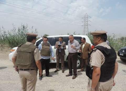 إزالة 427 حالة إشغال طريق في حملة بالفيوم