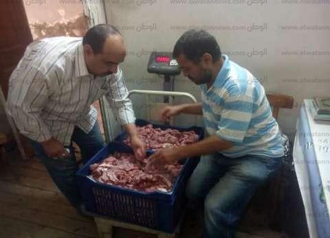 ضبط كميات كبيرة من اللحوم المذبوحة خارج المجازر بالإسماعيلية