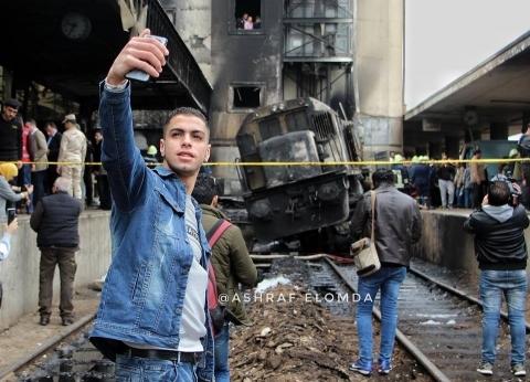 """صاحب """"سيلفي"""" محطة مصر: """"ماكنتش في وعيي"""""""