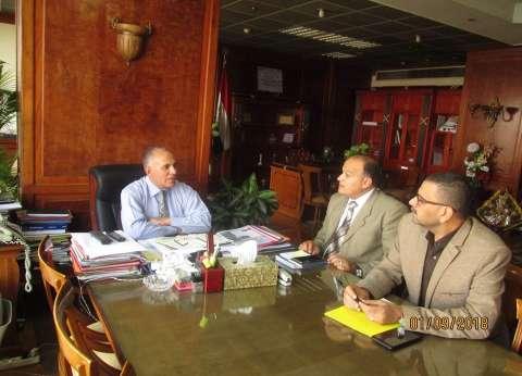 وزير الري يناقش مع المتحدث الرسمي خطة العمل الإعلامي للوزارة
