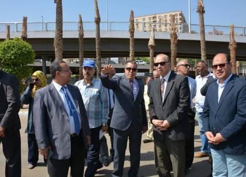 محافظ القاهرة: الانتهاء من تطوير ميدان سراي القبة نهاية الشهر الجاري