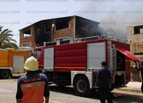 السيطرة على حريق بمحل أجهزة كهربائية في الإسكندرية