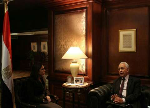 """نصر تلتقي المنسق العام لـ""""الشراكة المصرية اليابانية"""" لتفعيل اتفاقيات السيسي"""