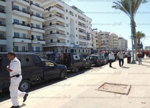 حملة أمنية مكبرة في الإسكندرية لضبط الخارجين عن القانون