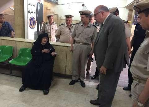 مدير أمن القليوبية يتفقد قسم ثاني شبرا الخيمة