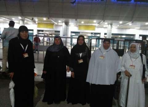"""""""مستقبل وطن"""" يودع أسر الشهداء المتوجهين لأداء العمرة بمطار القاهرة"""