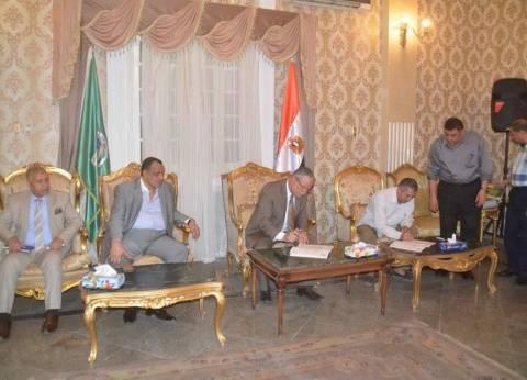 محافظ المنيا: لن نقبل طلبات تقنين أراضي الدولة بعد 14 يونيو