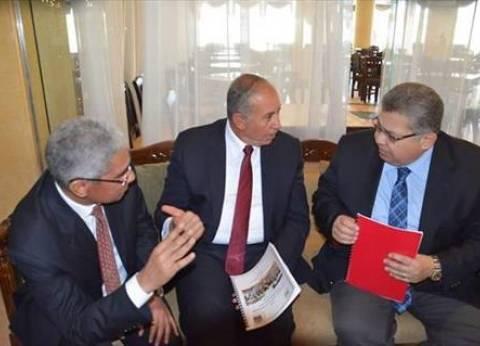 وزير التعليم العالي يزور مصابي حادث الكنيسة البطرسية بمستشفى دار الشفاء والدمرداش