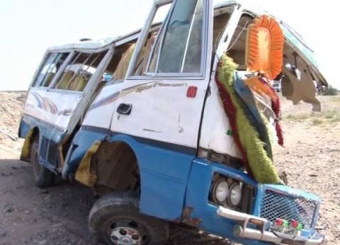 إصابة 5 أشخاص في انقلاب سيارة بالسويس