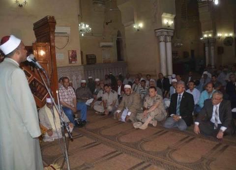 محافظ المنيا يشهد احتفال مديرية الأوقاف بالعام الهجري الجديد
