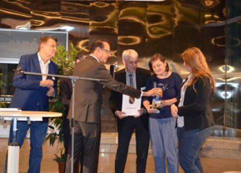 """الجامعة الألمانية تمنح """"فولكه"""" جائزة أفضل شركة لتدريب الطلاب"""
