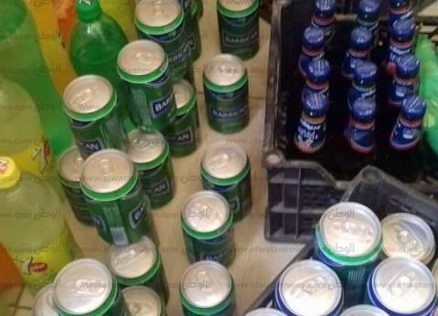 ضبط 495 عبوة مياه غازية وحليب منتهية الصلاحية في الإسكندرية