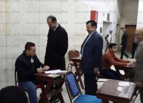 نائب رئيس جامعة الزقازيق يتابع سير أعمال الامتحانات