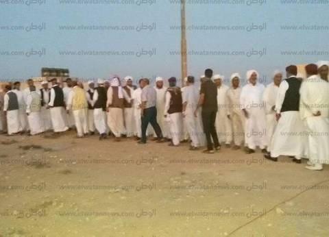 """جلسة صلح بين قبيلة الجبيهات المصرية و""""العبيدات"""" الليبية في مطروح"""