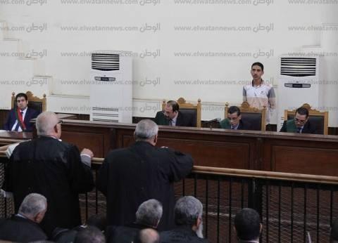 """تأجيل محاكمة بديع ونجل المعزول في """"اعتصام رابعة"""" لـ3 مارس"""