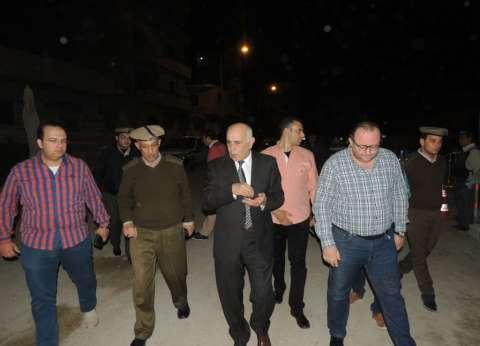 مدير أمن المنيا يفاجئ خدمات تأمين الكنائس الجديدة بعد منتصف الليل