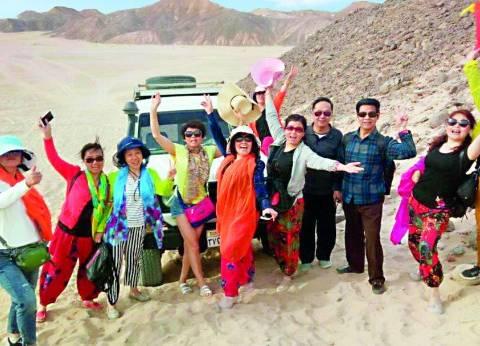 ارتفاع نسب الإشغال السياحي بالغردقة بالتزامن مع عيد الأضحى