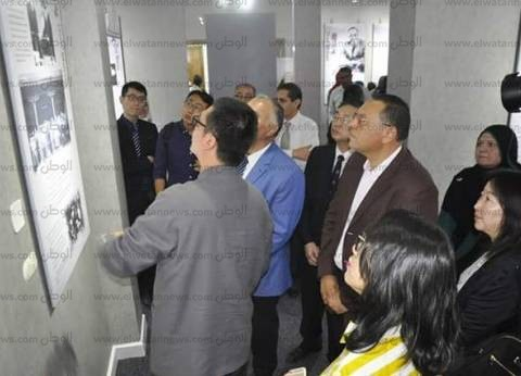 رئيس جامعة قناة السويس وقنصل الصين يفتتحان متحف للأديب كوموجو