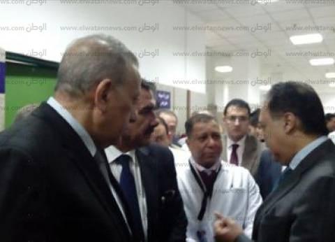 """""""وزير الصحة"""" يفتتح وحدة للغسيل الكلوي في مستشفى بولاق الدكرور العام"""