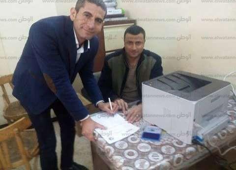 تحرير 125 توكيلا لتأييد السيسي في الانتخابات الرئاسية بالغربية