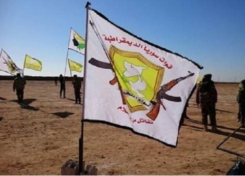 """وصول دفعة من الأسلحة الأمريكية لـ""""سوريا الديمقراطية"""""""