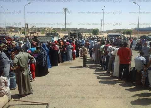 انتهاء أزمة اسطوانات البوتاجاز بالعاشر من رمضان
