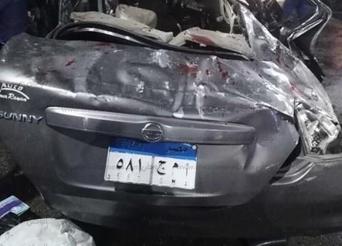 مصرع 4 أشخاص وإصابة آخر في حادث انقلاب سيارة بشارع رمسيس