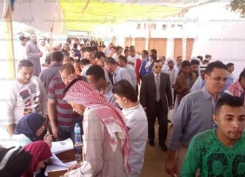 """العاملون بـ""""القطاع السياحي بجنوب سيناء"""" يشاركون بكثافة في الانتخابات"""