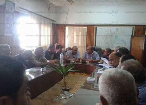 بالصور| رئيس مدينة فوة خلال لقاء المواطنين: لا مشاكل بمياه الري