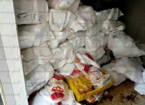 ضبط 1262 عبوة أغذية أطفال و79 عبوة عصائر فاسدة بالغربية