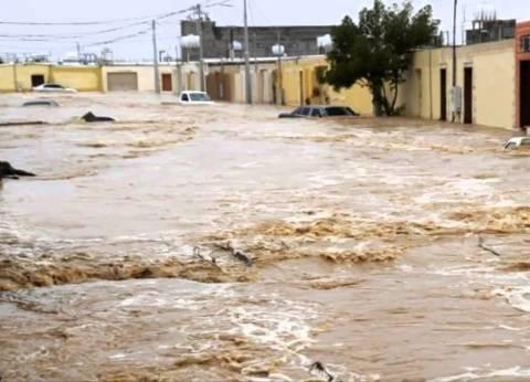 سيول في البحيرة وغرق قرية عفونة.. وأنباء عن انهيار منازل