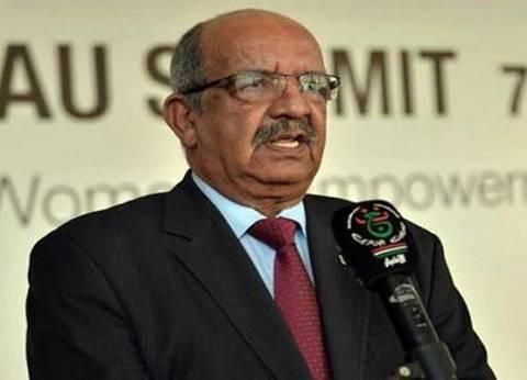 وزير الخارجية الجزائري يلتقي الأمين العام لمجلس الأمن الروسي