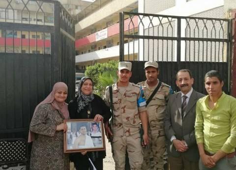 أسرة الشهيد هشام شتا تدلي بصوتها: صوتي رصاصة في قلب الإرهاب