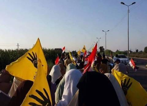 الإخوان ينظمون مسيرة في قرية المعزول بالشرقية
