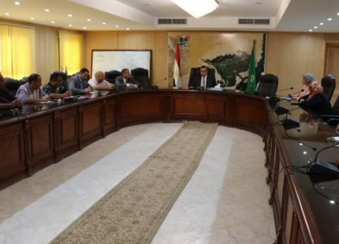 محافظ الفيوم يؤكد ضرورة مواجهة التعديات على الأراضي الزراعية في العيد
