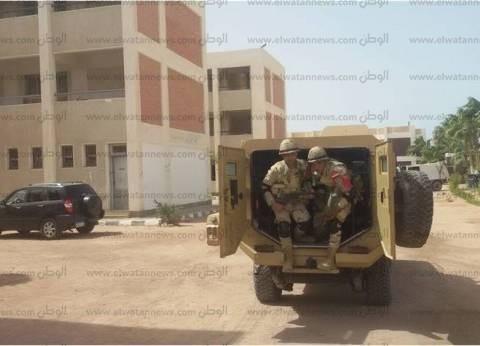 وصول القضاة المشرفين على الانتخابات بجنوب سيناء