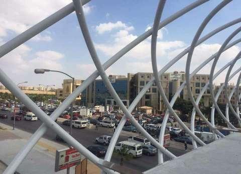 جامعة مصر للعلوم تنهي إنشاء quotكوبري مشاةquot وتفتتحه قريبا