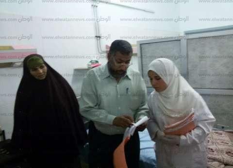 مدير الرعاية بالشرقية يباشر علاج المصابين في حادث ههيا