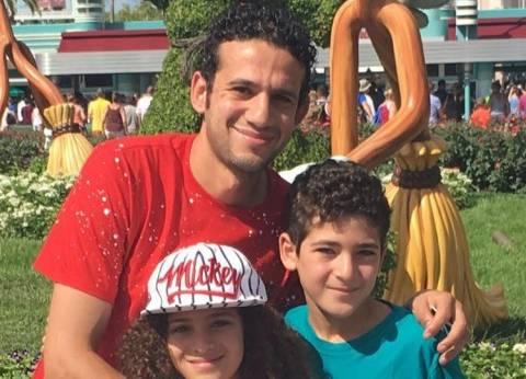 وفاة نجل محمد فضل في حادث سيارة