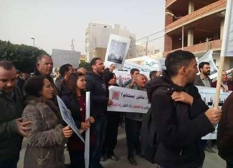 بالفيديو| متظاهرة تونسية: نعلن الحرب على الحرب في كل أنحاء البلاد
