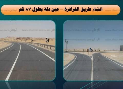 """وزير النقل: ازدواج طريق """"سوهاج - قنا"""" تكلّف 350 مليون جنيه"""