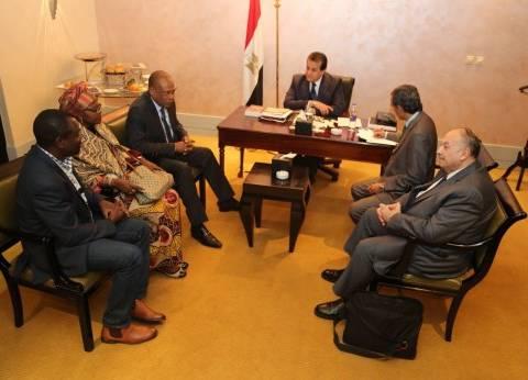 وزير التعليم العالي يبحث إنشاء فرع لجامعة الإسكندرية في جنوب السودان