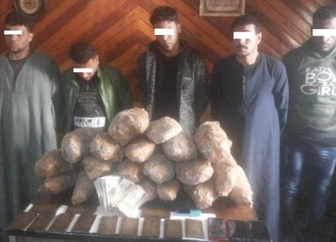 الأمن العام يزيل تعديات لتجار المخدرات على 50 فدانا بـ«السحر والجمال»