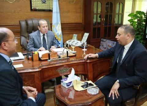 محافظ كفر الشيخ يستقبل مستشاري هيئة قضايا الدولة