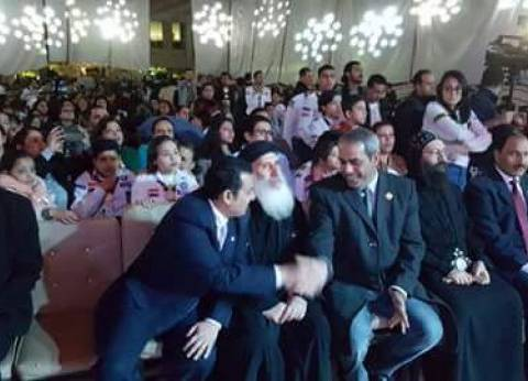 برلماني يشارك في احتفال الكشافة بكنيسة عزبة النخل