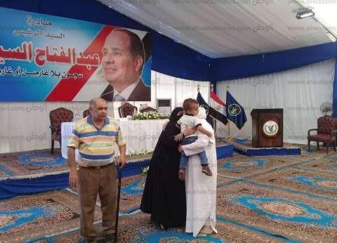 الإفراج عن 2376 سجينًا تنفيذًا لمبادرة السيسي وسط فرحة عارمة وزغاريد