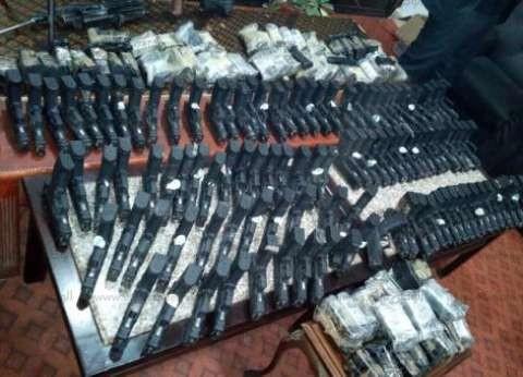 الداخلية: ضبطنا 129 ألف قطعة سلاح و451 ورشة تصنيع خلال 4 سنوات