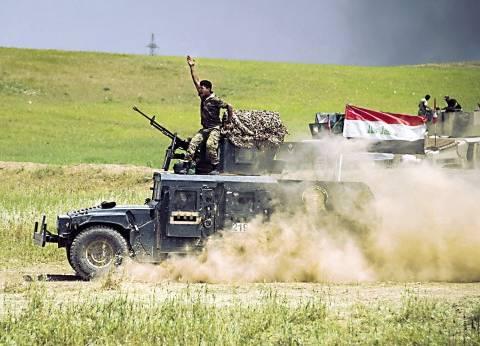 """القوات العراقية تقصف """"داعش"""" في تلعفر وتسيطر على شبكة أنفاق للتنظيم"""