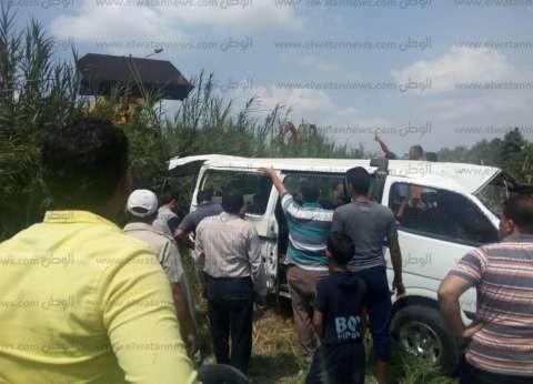 """""""ميكروباص"""" يدهس طفلة في دمياط.. والأمن يقبض على السائق"""